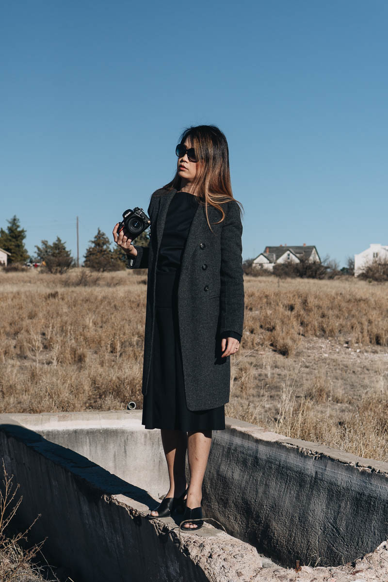 Winter Outfit for Marfa Trip