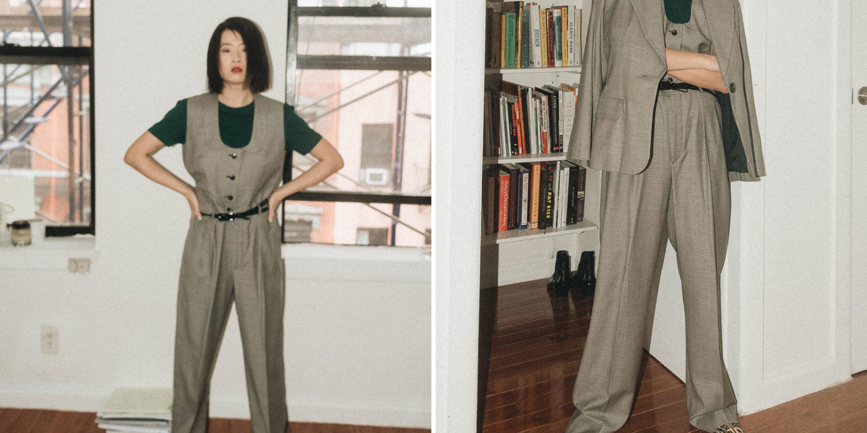 Vintage YSL suit
